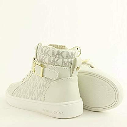 Michael Kors Zia Ivy Abigail Vanilla Juniors High Tops Ankle Boots (13.5 UK) 3