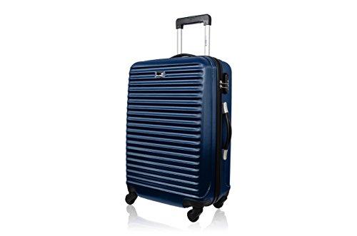 BLUESTAR Trolley rígido Brazilia Azul Marino 49.0 cm