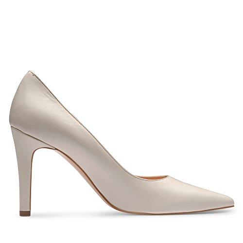 Evita Shoes - Zapatos de vestir de Piel para mujer Blanco - Cremeweiß