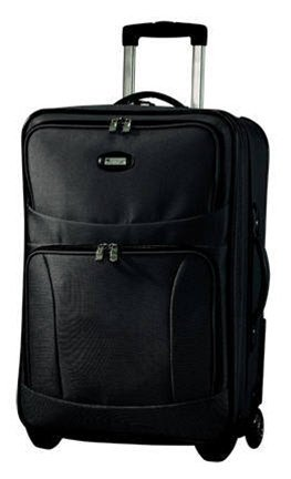 Pathfinder Avenger Xlite 27″ Trolley with Suiter, Black, Bags Central
