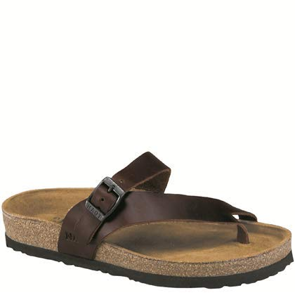 - Naot Women's Tahoe Toe Ring Sandal,Buffalo Leather,38 EU/6.5-7 M US