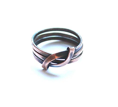 Handmade Ring Copper Women Men Unisex Accessories Jewelry