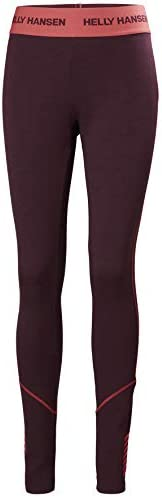 Helly Hansen LIFA Merino Midweight Pantalon Pants Womens, Wild Rose, XS