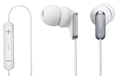Sony MDREX38iP WHI Earbud Control