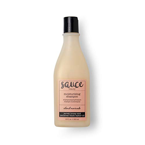 Island Marinade Moisturizing Shampoo with Coconut Milk, Jasmine & Honey that Soothes the Scalp & Adds Shine to Hair - Sulfate Free Shampoo with Argan & Castor Oils for Healthier, Stronger Hair