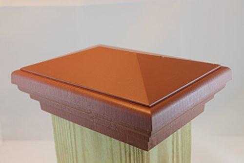 4x6 Post Cap (Nominal) Cedar Color Estate Series - 10 Year No Fade Guarantee