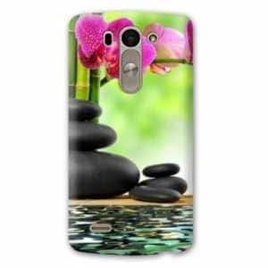 Amazon.com: Case Carcasa LG K10 Zen - - orchidee eau B ...