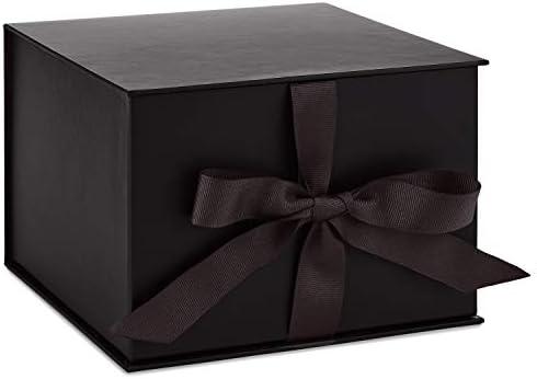 70th Birthday Gift Black and Gold Trinket Jewellery Box 15008