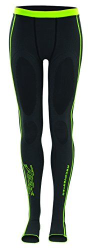 (Zoot Sports Men's Ultra Recovery 2.0 CRX Tights, Graphite/Safety Yellow, 3)