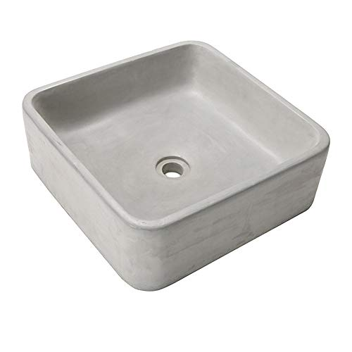- Square Sink Mold Bathroom Pot molds Concrete Sink Craft Moulds Wash Basin Silicone Mould with Wooden Frame