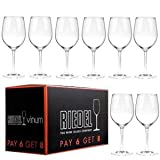 Riedel VINUM Chablis/Chardonnay Glasses, Pay for 6 get 8