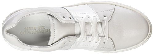 specchio Basses Sneakers Shoe Silver Blanc Femme Biz Hanne aqaxwYt