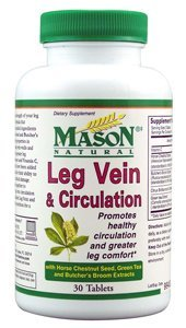 Mason naturel Leg veine et circulation Tablets - 30 Ea