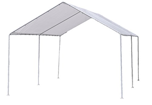 Dry Top 73102 Canopy Set, 10' x 20', White