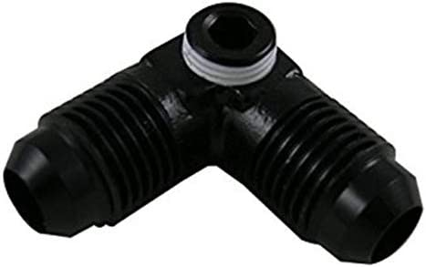 Fragola Performance Systems 997306-BL #6 Male 90 With 1//8 Fpt Port Black