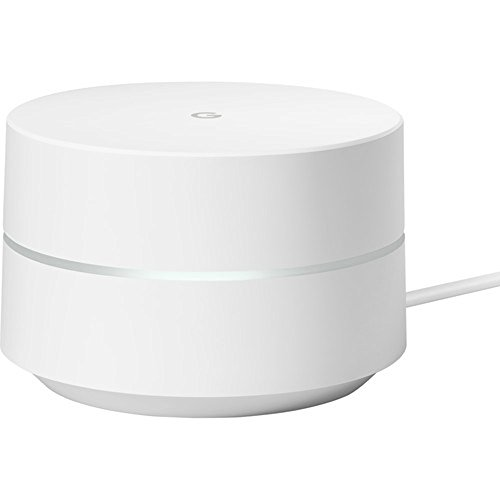 Google Wi-Fi (3-Pack) - GA00158-US w/Accessories Bundle Includes, 3X Deco Gear Google WiFi Outlet Wall Mount (White) & 2 Pack WiFi Smart Plug by Google (Image #2)