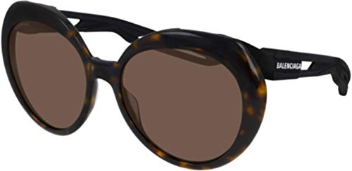 Sunglasses Balenciaga BB 0024 S- 001 Havana/Brown Black