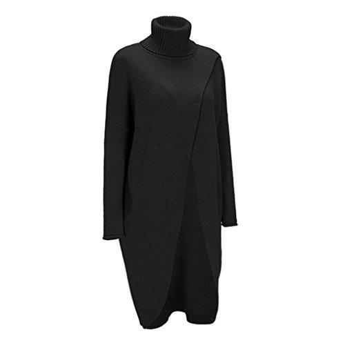 Poncho Laine Manteau Pullover Noir Tricotr Tircot Cape Chandail Châle Femme F5IvwUqn