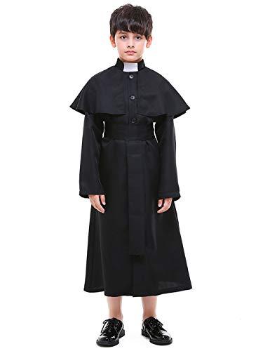 A&J DESIGN Little Boys' Priest Costume (Priest, -