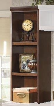 Ashley Furniture Signature Design Daleena Home Office Open Narrow Hutch, Warm Brown