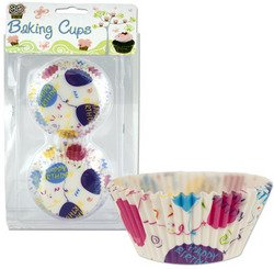 Happy Birthday Baking Cups (Sold by 1 pack of 24 items) PROD-ID : 1279361