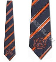 Auburn Tigers Collegiate Woven Polyester (Tigers Woven Polyester Tie)