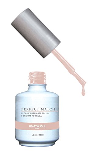 Frost Gel - LECHAT Perfect Match Nail Polish, Heart and Soul, 0.500 Ounce