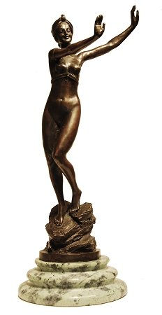 Bronze Sculpture Chiparus Arabic Dancer