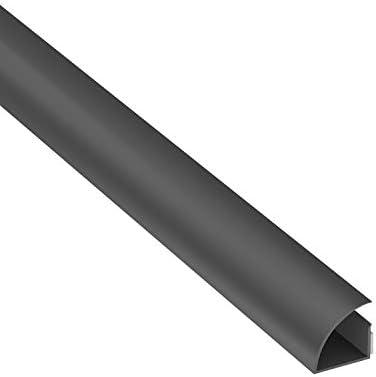 Cable Management Quarter Round Cable Tidy Solution D-Line Quadrant CableTraC