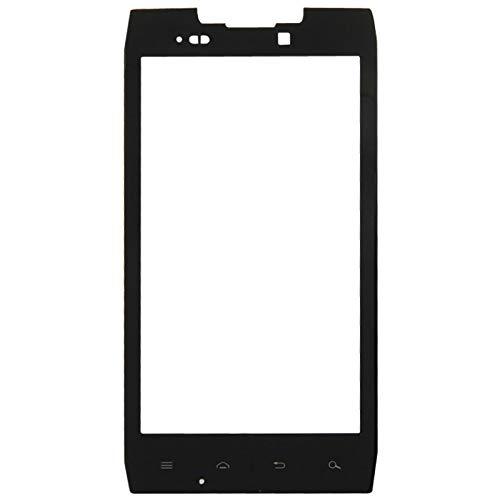 (HONGYU Smartphone Spare Parts Front Screen Outer Glass Lens for Motorola Droid RAZR / XT912 / XT910(Black) Repair Parts (Color : Black))