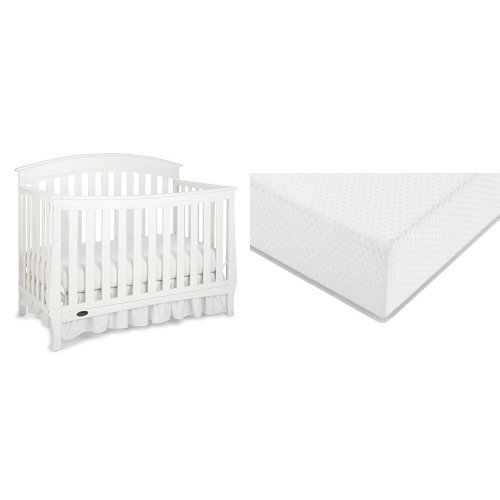 Dream On Me Jayden 4 In 1 Portable Convertible Crib With Changer Black