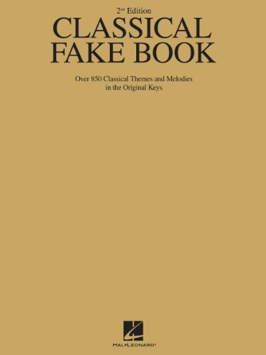Classical fake book over 850 classical themes and melodies in the classical fake book over 850 classical themes and melodies in the original keys by fandeluxe Gallery