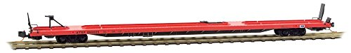 Micro-Trains MTL N-Scale 89ft. TOFC Flat Atchison Topeka Santa Fe/ATSF #295005