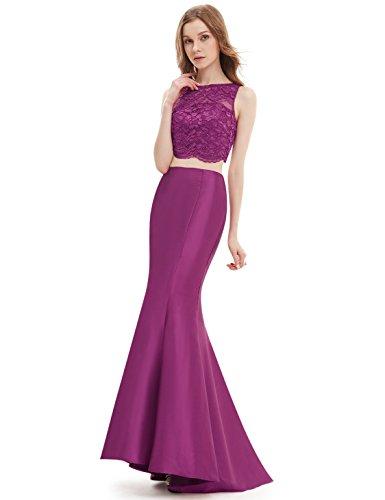 Ever-Pretty HE08434RD12 - Vestido para mujer HotPink