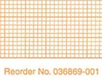9936327 PT# 036869-001 Paper EKG/ ECG 216mmx200' Orange Grid Thermal Z-Fold 10/Ca Made by Burdick by BND-Burdick