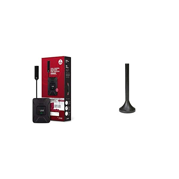 weBoost Drive OTR 470235 Cell Phone Signal Booster Trucker Kit – Verizon, AT&T, T-Mobile, Sprint