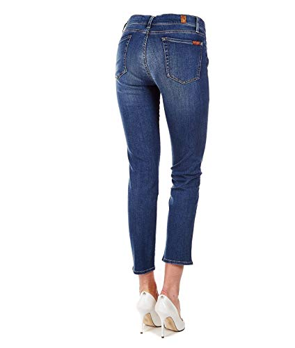 Mankind Bleu 7 Jeans Jslj8870ea All Femme For Coton qw88fBvEn