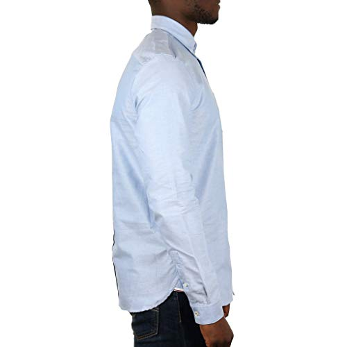 Hommes Fred De Perry Oxford Fumée Classique Chemise rFHv4nF