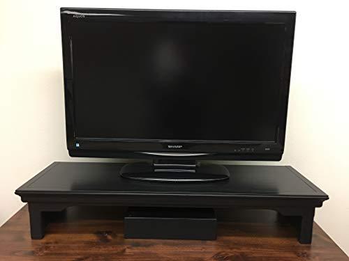 Oak Design Corporation TV Riser Stand Traditional Style Alder Wood in Mocha (38
