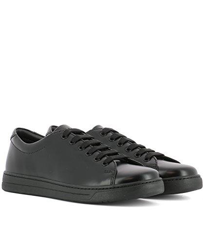 Prada Sport Sneakers Uomo 4E311610NJF0002 Pelle Nero 2018 De Descuento tHFbwDZa53