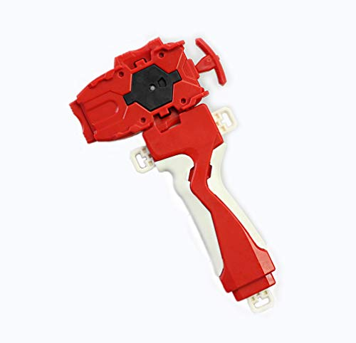 Bey Burst String Launcher Grip Right Spin Evolution Battling Top Starter String Launcher Bey Battling Spining Top Toys Accessories(Red) for Prime