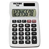 (3 Pack Value Bundle) VCT700 700 8-Digit Calculator, 8-Digit LCD