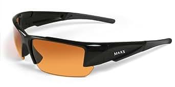 Amazon.com: Maxx Sunglasses Stealth 2.0 Golf Shades Black