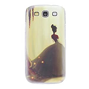 Lonely Princess Pattern Hard Case for Samsung Galaxy S3 I9300