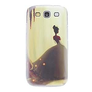 JAJAY-Lonely Princess Pattern Hard Case for Samsung Galaxy S3 I9300
