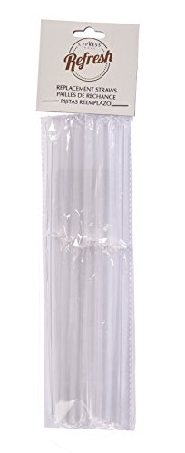 Peachy Kitchen Acrylic Straws, Set of 6