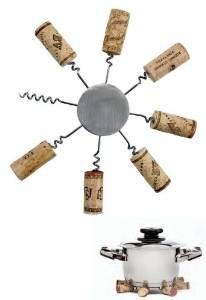 Franmara Sunburst Wine Cork Trivet ()
