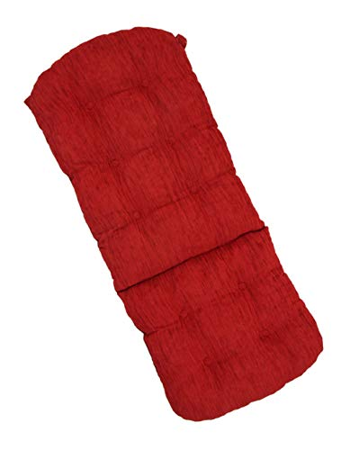Rattan Wicker Furniture Cushion Living Lounge Swivel Rocking Chair Color Red(Just Cushion) (Set Furniture Bamboo Cushion Living Room With)
