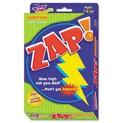 ** Zap Math Card Game, Ages 7 and Up