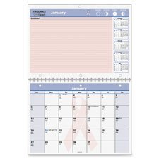 At-A-Glance BCA Desk/Wall Calendar,Notes Area,12-Mth Jan-Dec,11